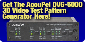 AccuPel DVG-5000 3D Video Test Pattern Generator